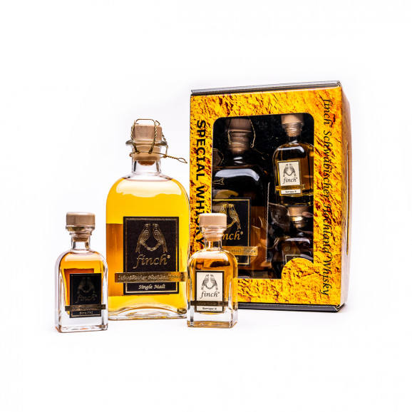 finch® Whisky Set Single Malt Sherry & Miniaturen